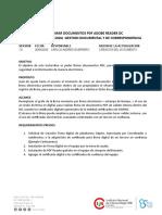 Instructivo de Firma digital  - Certificado de validez interna - v1