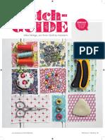 PatchGUIDE. Alles Nötige, um Ihren Quilt zu meistern. GRUNDLAGEN. Tipps und Tricks rund um Stoff und Nadel..pdf