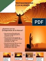 LOS PROTAGONISTAS DE LA ALIANZA