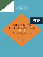 Kerényi, Karl - Imágenes primigenias de la religión griega III - Misterios de los Cabiros