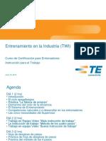 TWI Certificacion para Entrenador JI-Staff