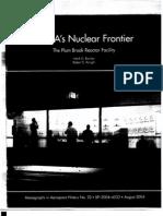 NASA's Nuclear Frontier the Plum Brook Reactor Facility, 1941-2002