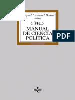 Caminal, Miquel (2005).- Manual de Ciencia Política