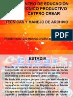 CREAR_TÉCNICAS Y MANEJO DE ARCHIVO_2017.ppt