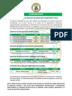 COMUNICADO EMAO 2020