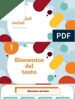 Tema Elementos del texto
