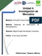 REPORTE DE INVESTIGACION DE MERCADOS UTILIZANDO EL SIM