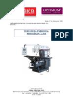 FRESADORA UNIVERSAL mT230S.pdf