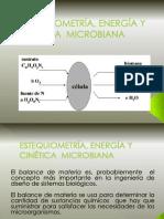 Estequiometría, Energía y Cinética Microbiana