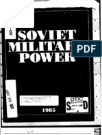 Soviet Military Power 1985