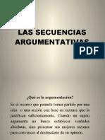 3. LAS SECUENCIAS ARGUMENTATIVAS. (2).pptx
