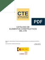 Catalogo de elementos constructivos del CTE