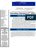 66 Newsletter January 2011