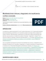 INSUFICIENCIA CARDIACA DIAGNOSTICO- UpToDate