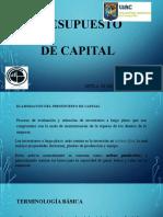 TEMA 5 .- PRESUPUESTO DE CAPITAL