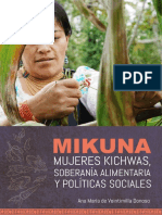 Soberanía alimentaria y mujeres Ecuador
