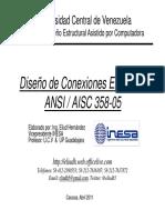ADEAPC_Conexiones End Plate_AISC 358-05 (B&N)_Abril 2011