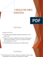 TEATRO SIGLO DE ORO ESPAÑOL power point.