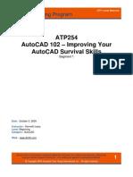 ATP254_Autocad 102 Improving Skills