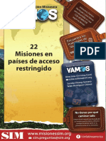 22 Misiones en países de acceso restringido