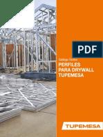 Catalogo Tecnico Perfiles Para Drywall Tupemesa_may19