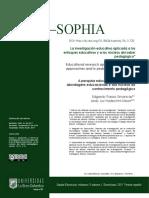 Passos Simancas, Hadechini Meza - 2019 - La investigación educativa aplicada a los enfoques educativos y a los núcleos del saber pedagóg.pdf