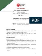 Arte y literatura en el Siglo de Oro; 2020 ..docx
