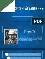 AUGUSTO H Álvarez, Arquitecto Mexicano