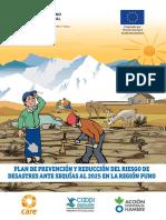 Plan de Prevención y Reducción del Riesgo de Desastres ante Sequias PUNO