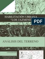 ANÁLISIS DE HABILITACIÓN URBANA
