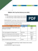 artifact 1 - waltons 100 day plan   february-june 2020