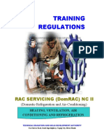 TR RAC Servicing (DomRAC) NC II