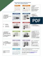 NE Franklin Calendar
