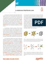 Como os anticorpos maternos interferem com a imunização