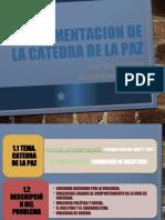 IMPLEMENTACION DE LA CATEDRA DE LA PAZ.pptx