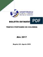 Tráfico Portuario 2017 Colombia