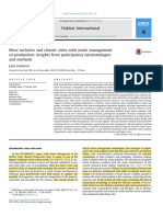 More inclusive and cleaner cities with waste management and coproduction-insights from participatory epistemology and methods. Guberlet. 2014.pdf
