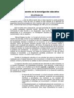 Texto 6. El rol del maestro en la investigación educativa..pdf