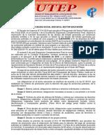 PAGO DE LA DEUDA SOCIAL 2020 EN EL SECTOR EDUCACIÓN