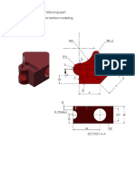 SOLIDWORKS CSWA EXAM QUESTION #2