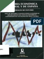 HISTORIA ECONÓMICA MUNDIAL Y DE ESPAÑA