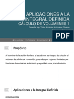 PPT 1 - Semana 05 - S1 - Aplicaciones a La Integral Definida - Volúmen 1