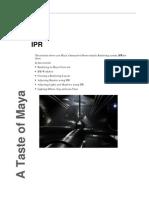 Autodesk Maya Tutorial - IPR