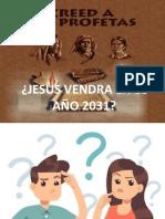 CREED A SUS PROFETAS - 2031 - 1 PARTE