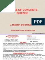 Basic Concrete Science