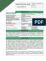 1. FORMATO PLAN DE ASIGNATURA v1 FUNDAMENTOS CONTABLES II 2020-1