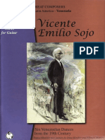 Vicente Emilio Sojo - Partituras Duos Guitarras