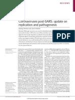 Coronaviruses post-SARS update on replication and pathogenesis