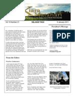 RCBKS Bulletin Vol 19 No 21