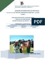Proyecto Lacteos de Tipuano Csicb